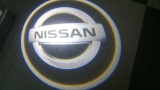 LED Car Door Laser Logo Projector Ghost Shadow Lights-Nissan