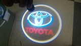 LED Car Door Laser Logo Projector Ghost Shadow Lights-Toyota