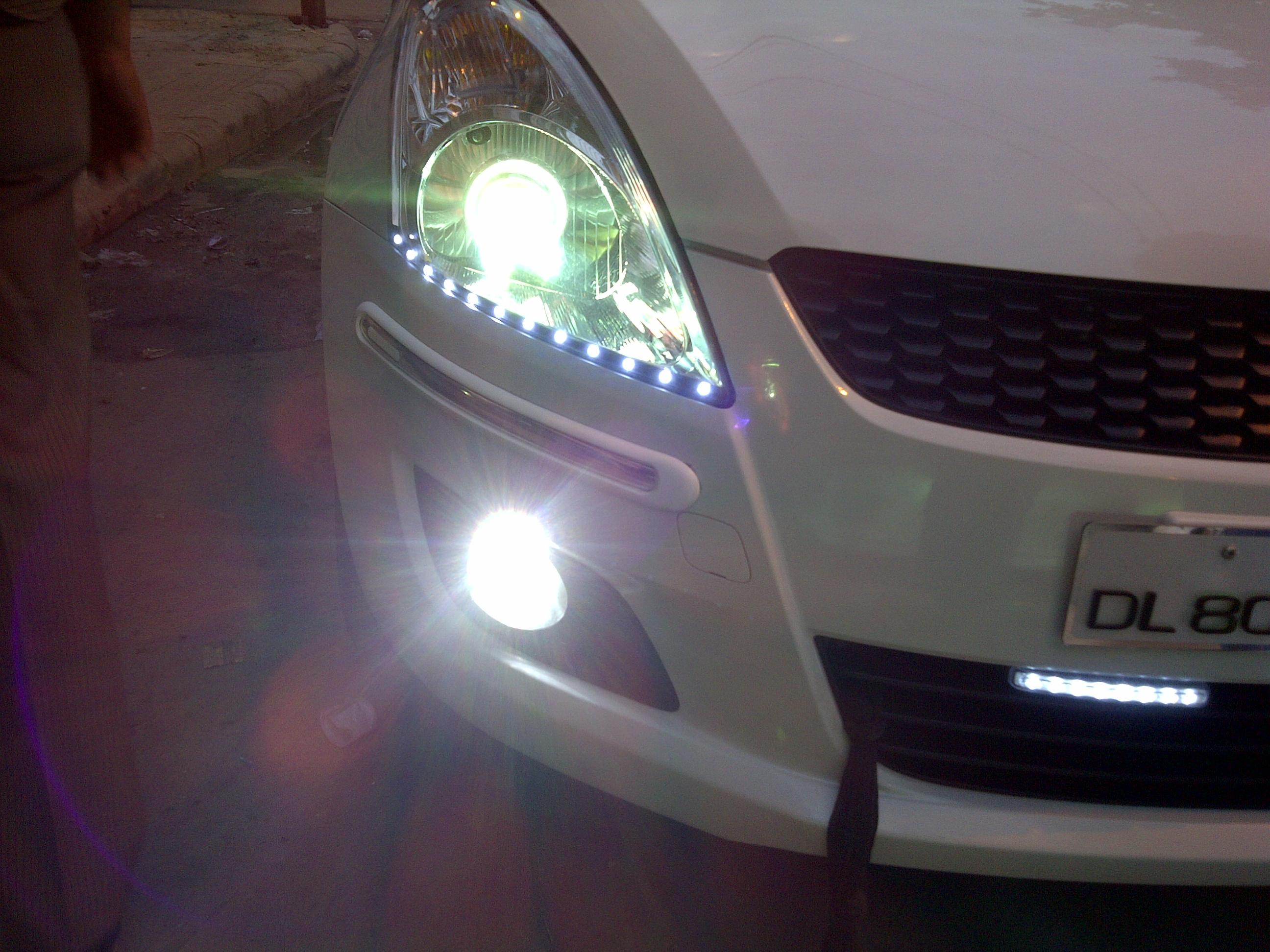 Maruti Suzuki Swift Projector Headlights In Delhi Swift Car Lenses
