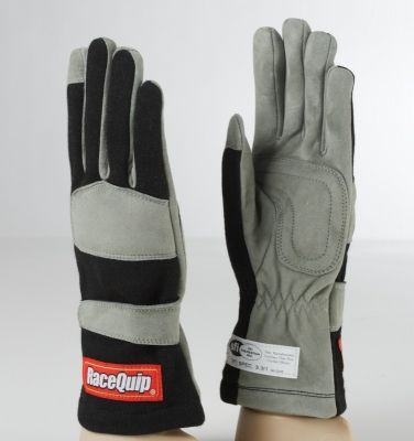 Race Quip Gloves Black Colour