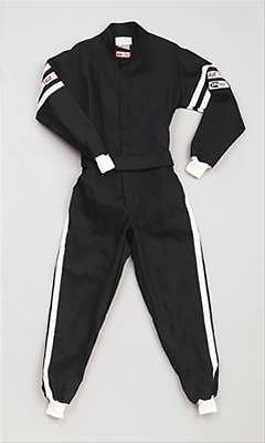 R.J.S Racing Suit SFI 3.2A/1 BLACK COLOUR XL SIZE