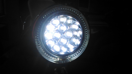Universal Fog light-white
