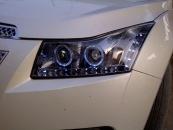Head Lamp Projector LED For CRUZE Black Colorno