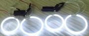 CCFL ANGEL EYES-WHITE-105mm PAIRno