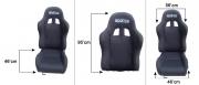 Sparco Seat Recline BLack Colour {SINGLE}no