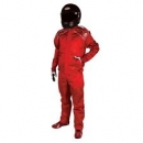 R.C.I Racing Suit Large Size Red Colourno