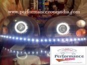 mahindra scorpio LED headlightno