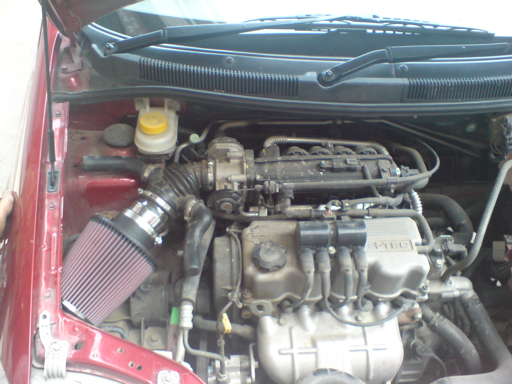 Kn Filter With Intake Pipe For Aveo Fuel